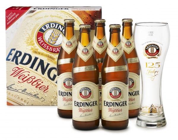 Promoción Erdinger, cerveza alemana de trigo